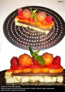 salade de fruits choco